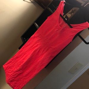 Orange Bebe dress small I have a red one also